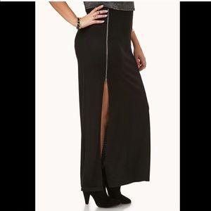 High Split Maxi Skirt